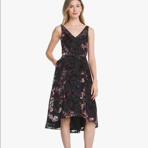 Hi Lo WHBM Floral Cocktail Dress